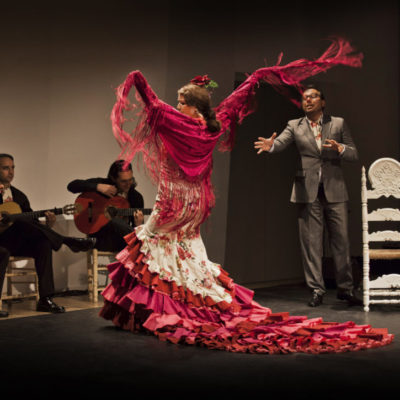Flamenco-Tuch Mantón