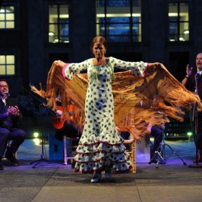 Flamenco mit Sänger und Gitarrist