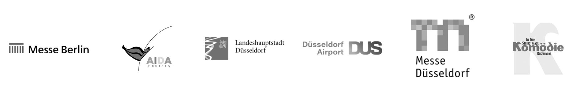 Messe Berlin, AIDA, Düsseldorf, Düsseldorf Airport, Messe Düsseldorf, Komödie Steinstraße